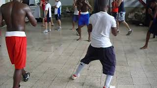 Cuban Boxing footwork