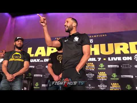 """YOU P***Y!"" - JAMES DEGALE GOES OFF ON CALEB PLANT DURING TRUAX FACE OFF"