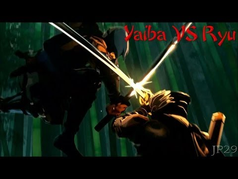 Yaiba Ninja Gaiden Z - Yaiba Kamikaze Vs Ryu Hayabusa First Encounter video