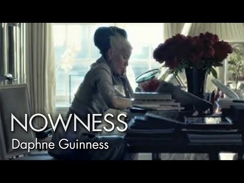 "Daphne Guinness in ""Daphne s Window"" by Brennan Stasiewicz"