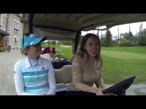 GolfCart Interview - Paula Creamer - The Evian Championship 2014