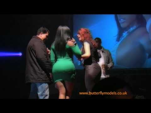 Butterflymodels - Buffie The Body In Amsterdam 2010 - The Real Big Ass Parade video