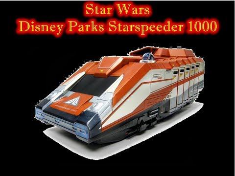 MrByZ's Reveiws Episode# 110 Disney parks Star Tours Starspeeder 1000 Action Figure vehicle playset