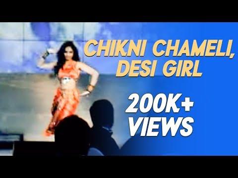 Ridy - Chikni Chameli, Desi Girl video