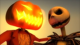 ♫ This is Halloween (3D HYBRID Minecraft Animation) Nightmare Before Christmas Cover