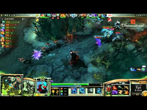 German)   Na'Vi vs  LGD cn Game 1   The International 3 Group Stage   Epi
