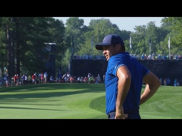 Jason Day,Phil Mickelson,Keegan Bradley PGA Championship 2018 Round 1
