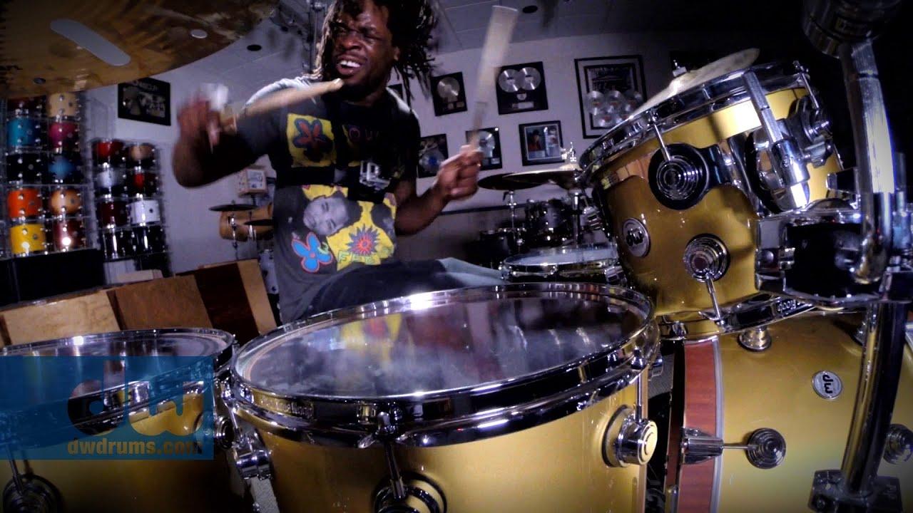 dw Drums Wallpaper Thomas Pridgen Plays dw Drums