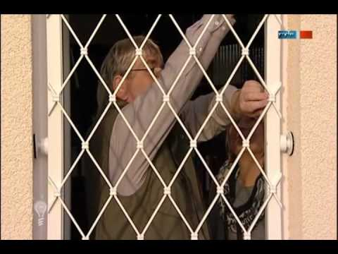 Nachrüstbares Fenstergitter - MDR Einfach Genial Moderations-Cuts - 29.11.2011