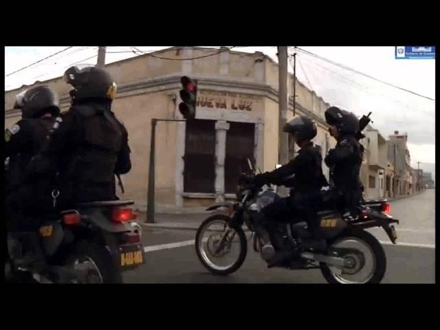 POLICIA ELITE MOTORIZADA DE GUATEMALA