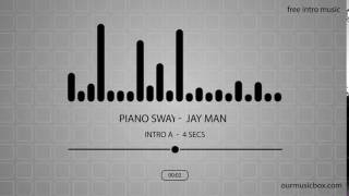 Free Jazz Intro Music   'Piano Sway' Intro A   4 seconds   OurMusicBox