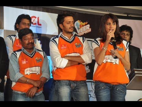 Ritesh Deshmukh & Genelia  Announces  Veer Marathi CCL Team Tie Up With AbhiBus