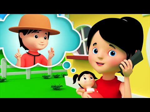 miss polly had a dolly | nursery rhymes | 3d rhymes | kids songs | Kids Tv Nursery Rhymes