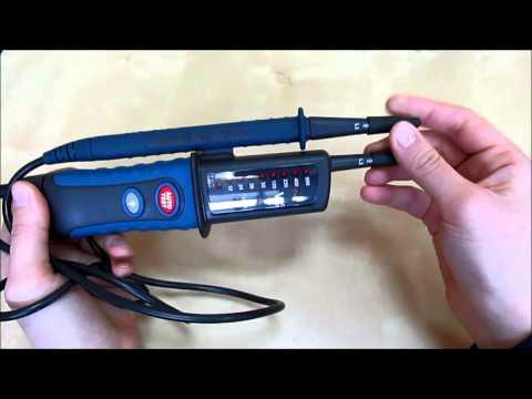 Детектор напряжения и правильности подключения СЕМ DT 9021, DT 9121