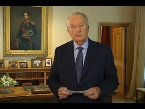 El Rey Alberto II de Bélgica anuncia su abdicación en su hijo