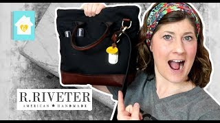 WHAT'S IN MY R.RIVETER BAG | ABOUT THE COMPANY & MISSION | #bagsonamission