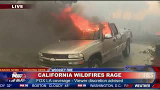 MY HOME IS GONE: California Wildfires Destroy Homes And Lives