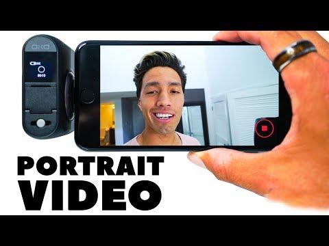 "SHOOT VIDEO IN ""PORTRAIT"" MODE HACK!!!"