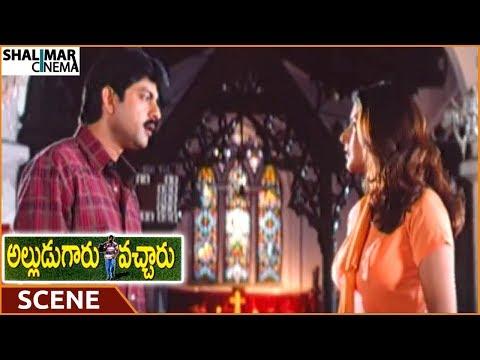 Alludugaaru Vacharu Movie || Heera Rajagopal Insults Jagapati Babu's Love || Jagapati Babu, Kausalya