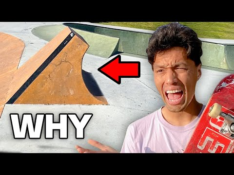 Skate Ramps That SHOULD NOT Exist