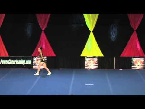 University of Regina Cheerleading - PCA UONCC 2008 - Female Tumble Comp - Jess