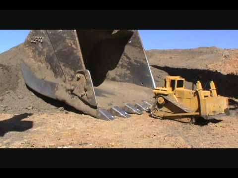 RC Dozer in Big Muskie Bucket (Recreation). Music Videos
