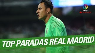 TOP 10 Saves Real Madrid LaLiga Santander 2016/2017