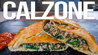 The Best Calzone (Pizza Pocket) Recipe | SAM THE COOKING GUY 4K