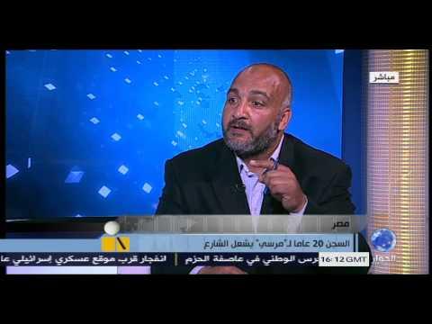 احمد سعد يعلق على حكم الرئيس محمد مرسي 20 عام بالسجن