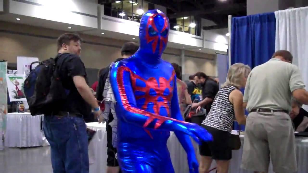 heroescon 2010 cosplay spiderman 2099 youtube