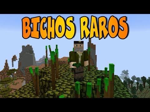 BICHOS MOBS WEIRD MOBS MOD Minecraft Mod Review