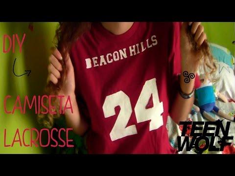 DIY Camiseta Lacrosse - Teen Wolf