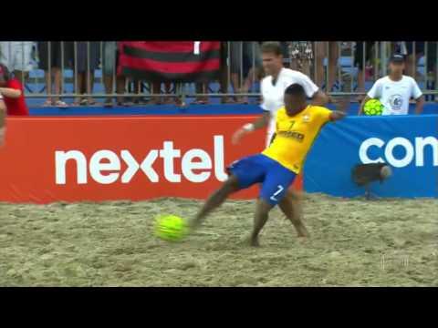 BeachSoccer FINAL Brasil 8 x 2 Itália MUNDIALITO Futebol de Areia 2016
