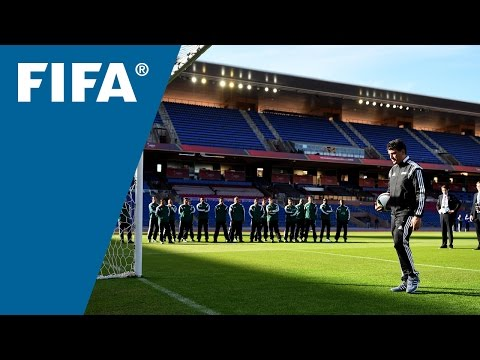 FIFA referees study World Cup