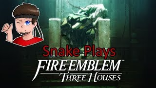 Searching The Monastery To Find Flayn! (Snake Plays: Fire Emblem - Three Houses) #BlueLions