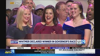 Gov.-elect Gretchen Whitmer's acceptance speech