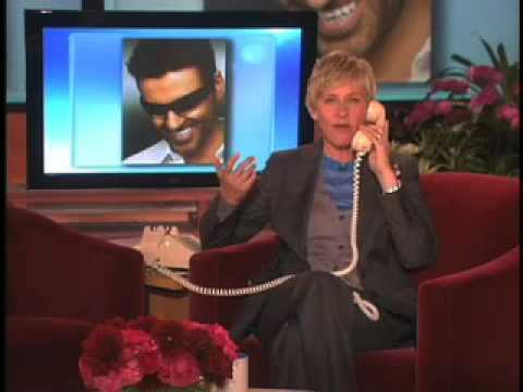 George Michael on The Ellen DeGeneres Show