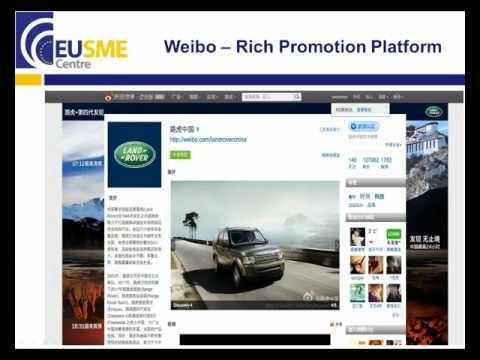 EU SME Centre Webinar - How to develop a robust digital marketing strategy in China