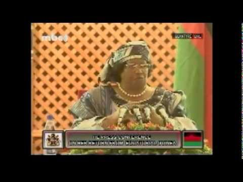 Pt3of9 - Questions Time - President Joyce Banda Press Conference on Return from Equatorial Guinea