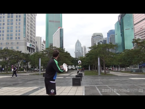 China Frisbee Trick Shots | Brodie Smith