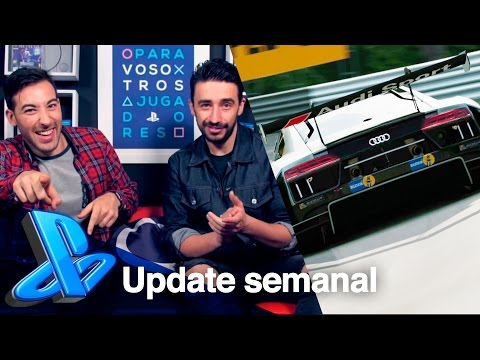 LLEGA GRAN TURISMO SPORT + UNCHARTED 4 EN LA LIGA | PlayStation Update
