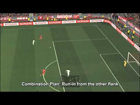 PES 2014   Team Attacking Controls Gameplay