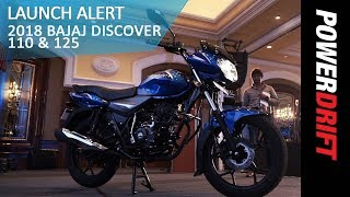 Bajaj Introduces The Discover 110 + 2018 Discover 125 : PowerDrift