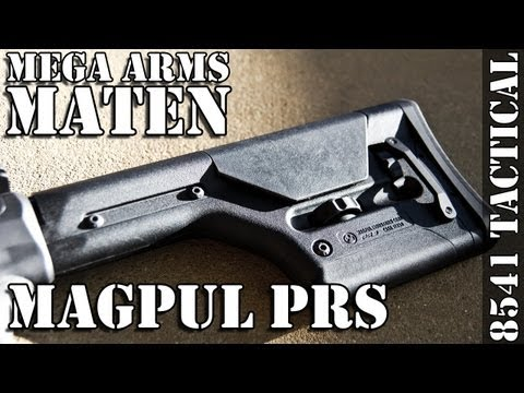 MATEN Build Series 04 - Magpul PRS and Magazine Release Installation