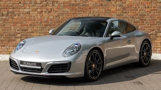 2017 Porsche 911 (991.2) Carrera - GT Silver - Walkaround, Interior & Exhaust Sound