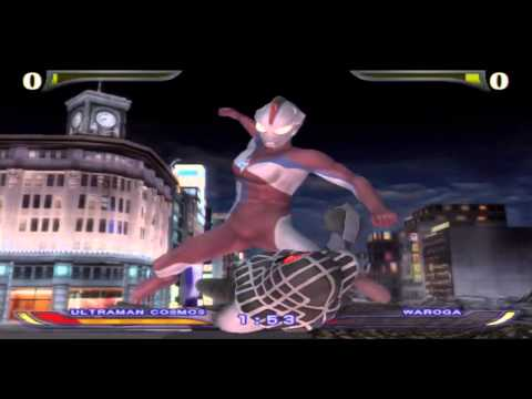 Ultraman Fighting Evolution Rebirth Pt11 Episode 10-11 Ultra Seven And Ultraman Cosmos