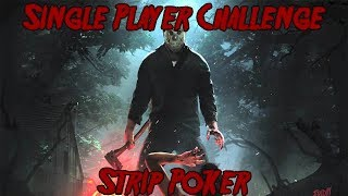 Friday The 13th Game Single Player Challenge Strip Poker Getting All Objectives Part7