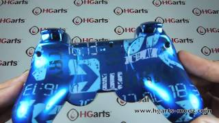 Candy Blue Urban | PS3 Modded Controller | HG Arts Modz
