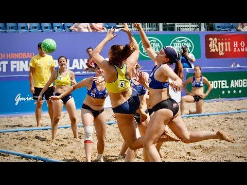 W Starych Jabłonkach Trwają Mistrzostwa Europy W Plażowej Piłce Ręcznej