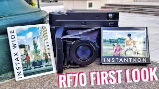 First Look: Instantkon RF70, Fully Manual Instax Wide Camera